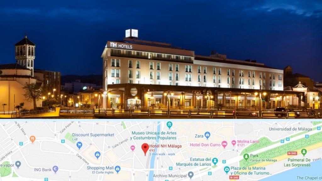 NH hoteles - Málaga